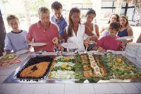 Kosten voor een buffet - dus je moet verwachten