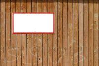 Met hout kleur renoveren de houten scherm muur