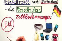 Bereken invoerrechten naar Duitsland - hoe het werkt