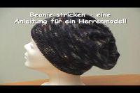 Beanie Knit - een gids voor een mannen-model