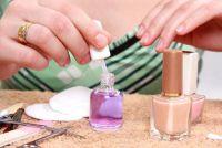 Verf nagels goed - dus het zal zijn als de manicure