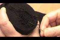 Reparatie gat in panty - hoe het werkt