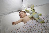 Need it baby het donker tijdens het slapen?