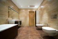Vloer in de badkamer te vernieuwen - Tips en ideeën voor een mediterrane badkamer ontwerp