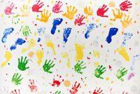 Fotowand - ideeën voor een kindvriendelijke ontwerp