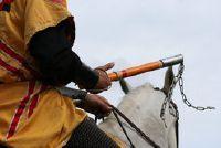 Carnaval kostuum - verkleden als vrouw te slagen als een ridder dus