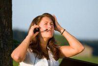 Bericht applicatie succesvol als een telefonist is