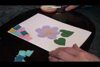 Voor Vaderdag ambachtelijke in de kleuterschool - ideeën bouw papier
