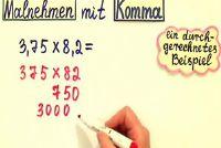 Schriftelijke vermenigvuldiging - een uitleg van decimalen