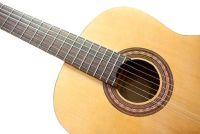 Guitar schilderij - dat u moet zich bewust zijn