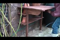 Een plant tafel - een constructie handleiding