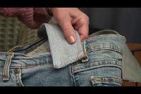 Jeans zakken naaien zelf - een gids