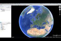Google Earth: voer de coördinaten - hoe het werkt