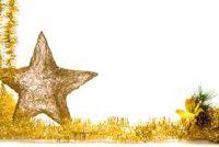 Kerstmis ambachten in de kleuterschool - dus slagen eenvoudige ster