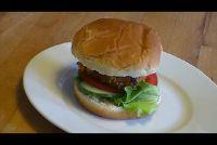 Green Core Burger - een veganistisch recept