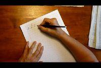 Leer schoonschrijven - Instructies