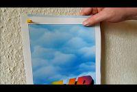Foto's hangen zonder boren - dus het is mogelijk