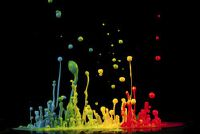Wash acrylverf