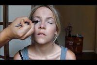 Make-up tips voor de blauwe ogen en blond haar - dus het is een plechtige make-up