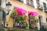 Paraplu houder balkon relingen - het u op moet letten bij het vastmaken