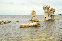 Diepte van de Baltische Zee op het laagste punt