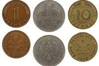 D-Mark-verzamelaars - dus je verkoopt munten goed