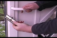 Wijzig deurslot - dus vervang het Kasteel