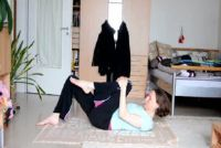 Buikvet burn - eenvoudige yoga oefeningen voor thuis