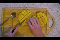 Hoe een mango te snijden?