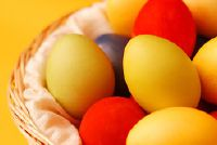 Verven eieren zonder azijn