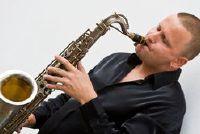 Huis lied met saxofoon - Voorbeelden