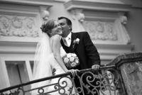 Schrijf Gefeliciteerd met de bruiloft zelf - het is individueel