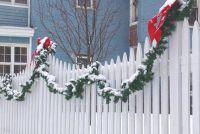 Kerstmis versieren balkon en tuin - hoe het werkt