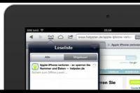 Lijst bewerken lezen op de iPad - Hier is hoe