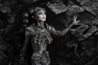 Martian kostuum voor vrouwen - hoe het werkt
