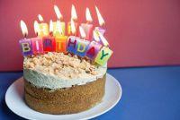 Verjaardag zeggen voor de chef-kok