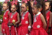 Thema's voor kinderen carnaval - dus het is dwaas in de kleuterschool