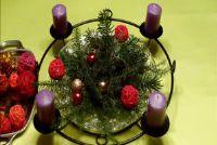 Decoratie voor Kerstmis - dus het is ook mogelijk op een begroting