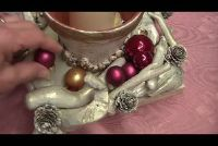 Maak Weihnachtsgesteck zich met natuurlijke materialen