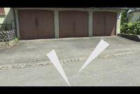 Parkeergelegenheid tegenover een ingang - die wordt waargenomen