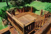 Clean Bangkirai hout rechts