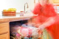 Gebruik tabbladen en zout goed - afwasmachine