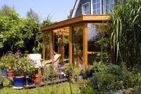 Tuin Terras bouw je eigen - het moet worden overwogen voor de planning