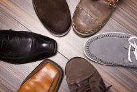 Schoenen, waarbij men niet zweten - opmerkelijk