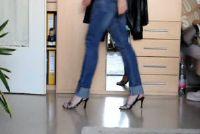 Pompen dragen - als je leert op hoge hakken te lopen