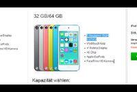 Eenvoudig uitgelegd verschil van iPod Touch 4G en 5G