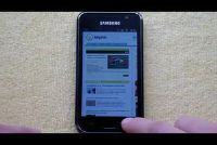 Samsung Galaxy S Plus - maak Screenshot