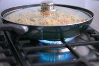 Gerechten met gehakt en rijst - recept voor gebakken rijst