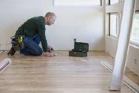 Verwijder tapijt fixatie