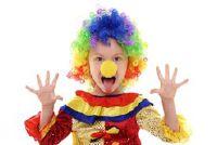 Schminken - een clown slaagt dus